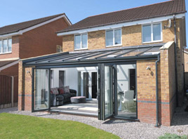 Bluebell Conservatories Tile Glass Roof Extensions