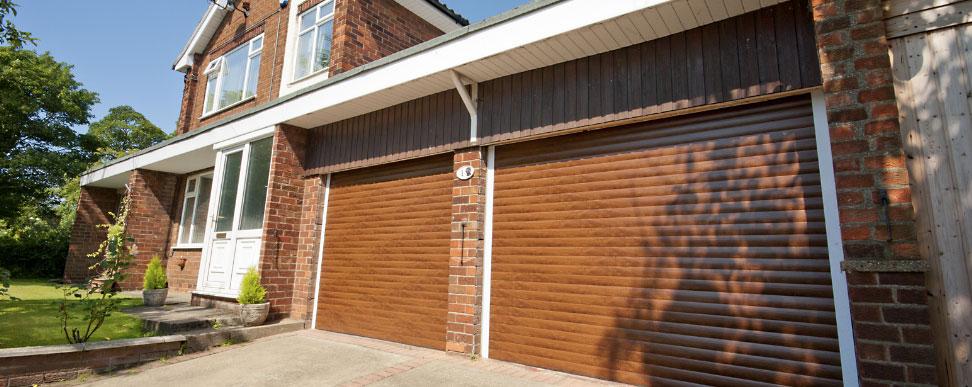 Bluebell Conservatories Garage Doors Electric Roller Dinnington